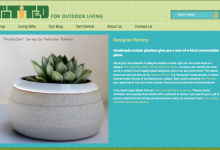 Potted Store Website