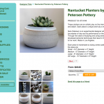 Potted Store Product Page