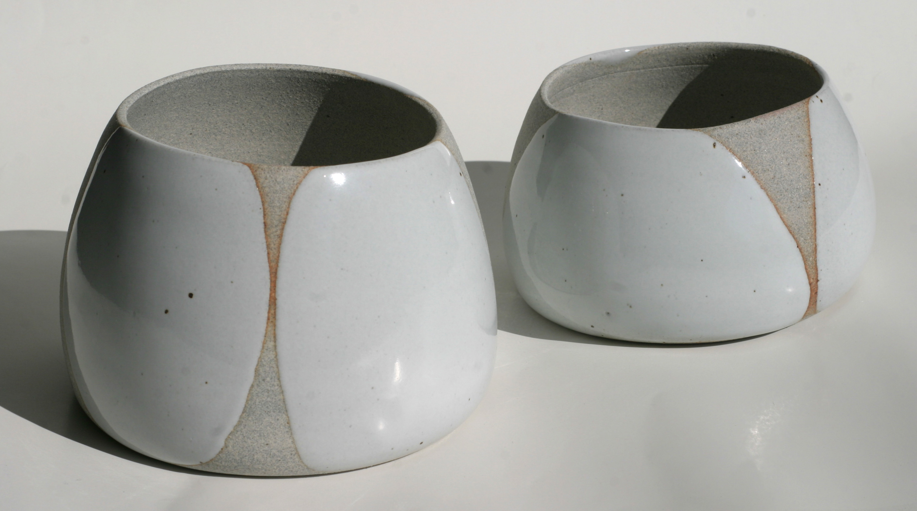 Kiss Glazed Nantucket Pair -sold-