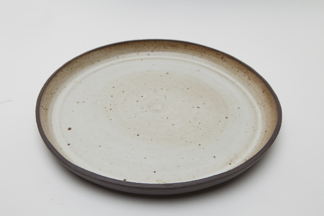 -Vintage Glaze with Raw Rim and Sides-