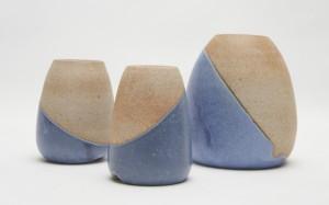 Hastings vase_blue bottom angle glaze